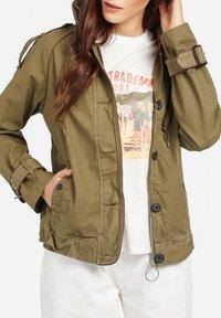 khujo - STACEY - Light jacket - khaki - 5