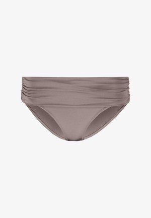 AZURE FOLDOVER RUCHED BRIEF - Braguita de bikini - stardust