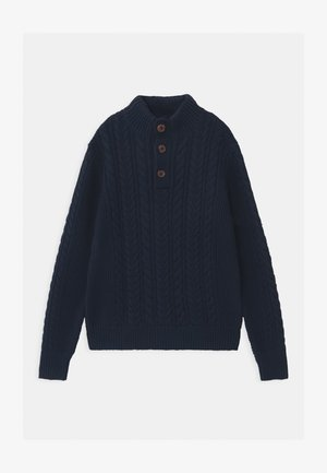BOY MOCK - Strikpullover /Striktrøjer - blue galaxy