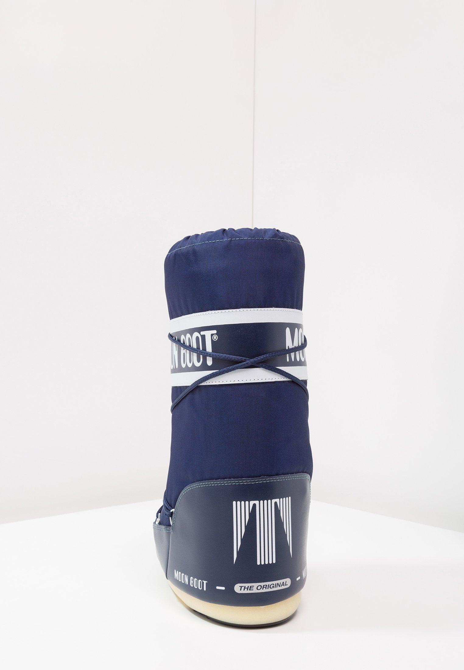 Moon Boot Bottes de neige - blu - Bottes femme Dégagement