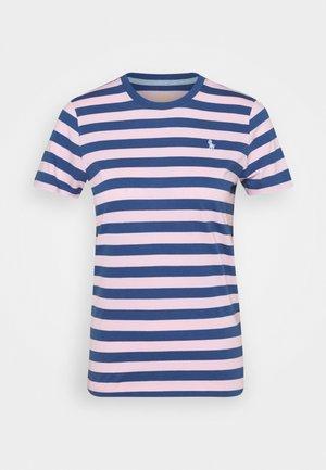 T-shirts print - garden pink/eart