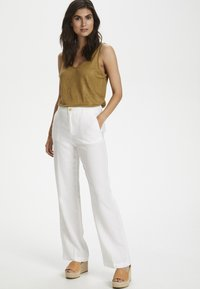 Part Two - BEGITTAPW - Trousers - bright white - 1