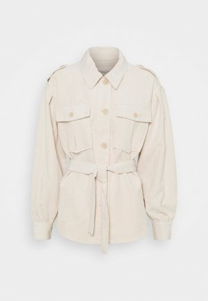 ONLNINA SHORT SHACKET - Summer jacket - pumice stone