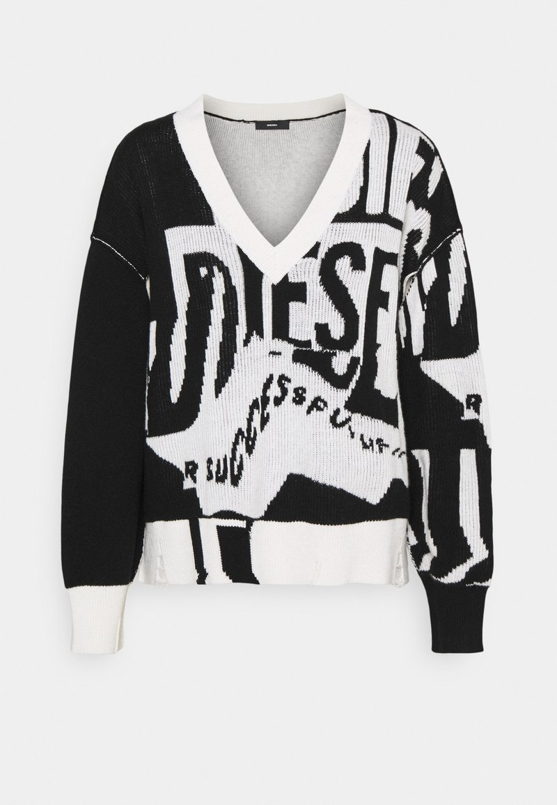 Diesel - M-ROSALINE - Pullover - black