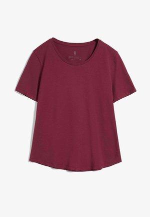 MINAA - Basic T-shirt - ruby red