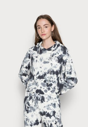 FINSEY TIE DYE HOODIE - Sweater - black