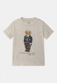 Polo Ralph Lauren - Print T-shirt - american heather - 0