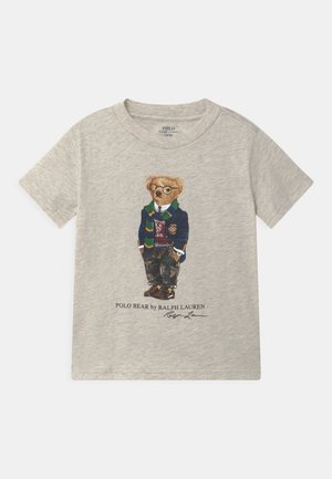Print T-shirt - american heather