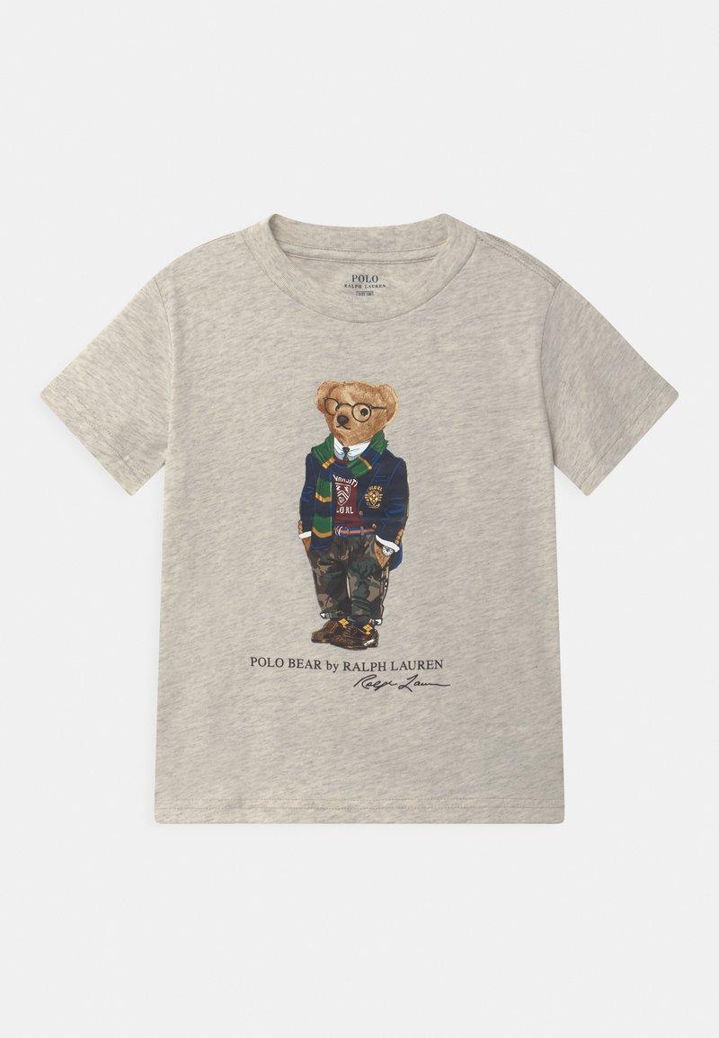 Polo Ralph Lauren - Print T-shirt - american heather
