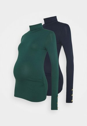 MATERNITY ROLL NECK 2 PACK - Top s dlouhým rukávem - multi