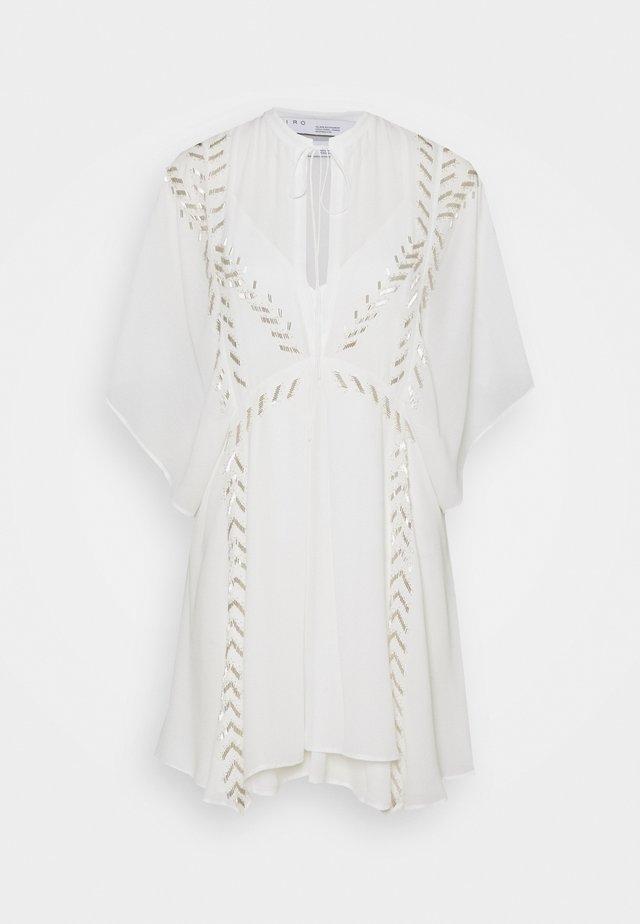 AZARE DRESS - Korte jurk - ecru