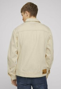 TOM TAILOR DENIM - Denim jacket - unbleached natural bull denim - 2
