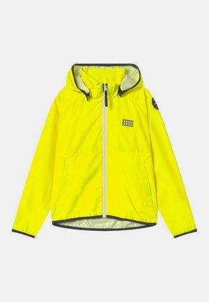 JORI 201 JACKET UNISEX - Impermeable - neon yellow
