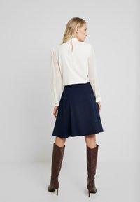 Anna Field - BASIC - Áčková sukně - maritime blue - 2