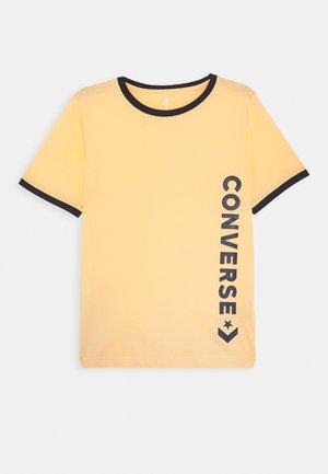 VINTAGE LOGO RINGER TEE - T-shirt print - topaz gold