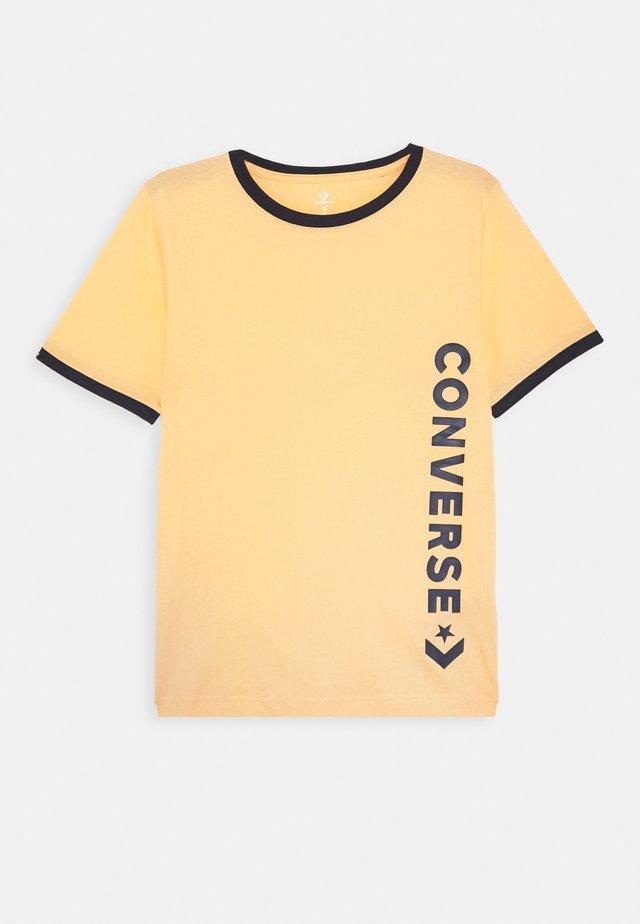 VINTAGE LOGO RINGER TEE - Print T-shirt - topaz gold