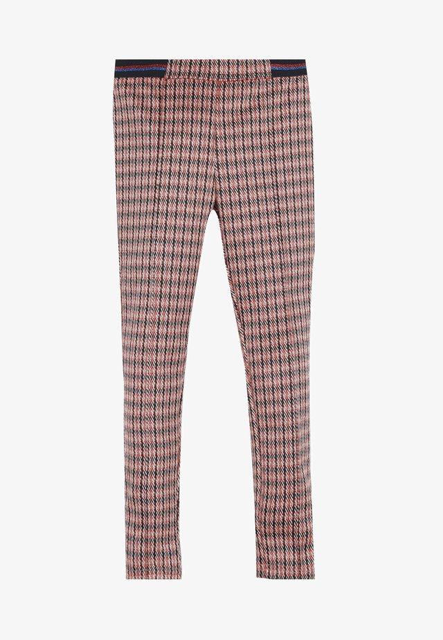 Pantalones - cherry