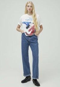 PULL&BEAR - DISNEY - T-shirt con stampa - white - 1