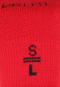Jordan - JUMPMAN NO-SHOW 3 PACK - Trainer socks - black/white/gym red - 3