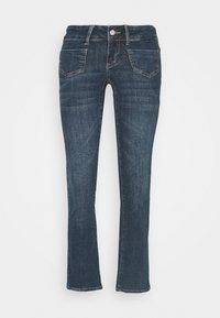 VMDINA - Široké džíny - dark blue denim