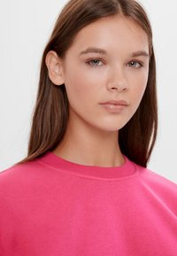 Bershka - Sweatshirt - neon pink - 3