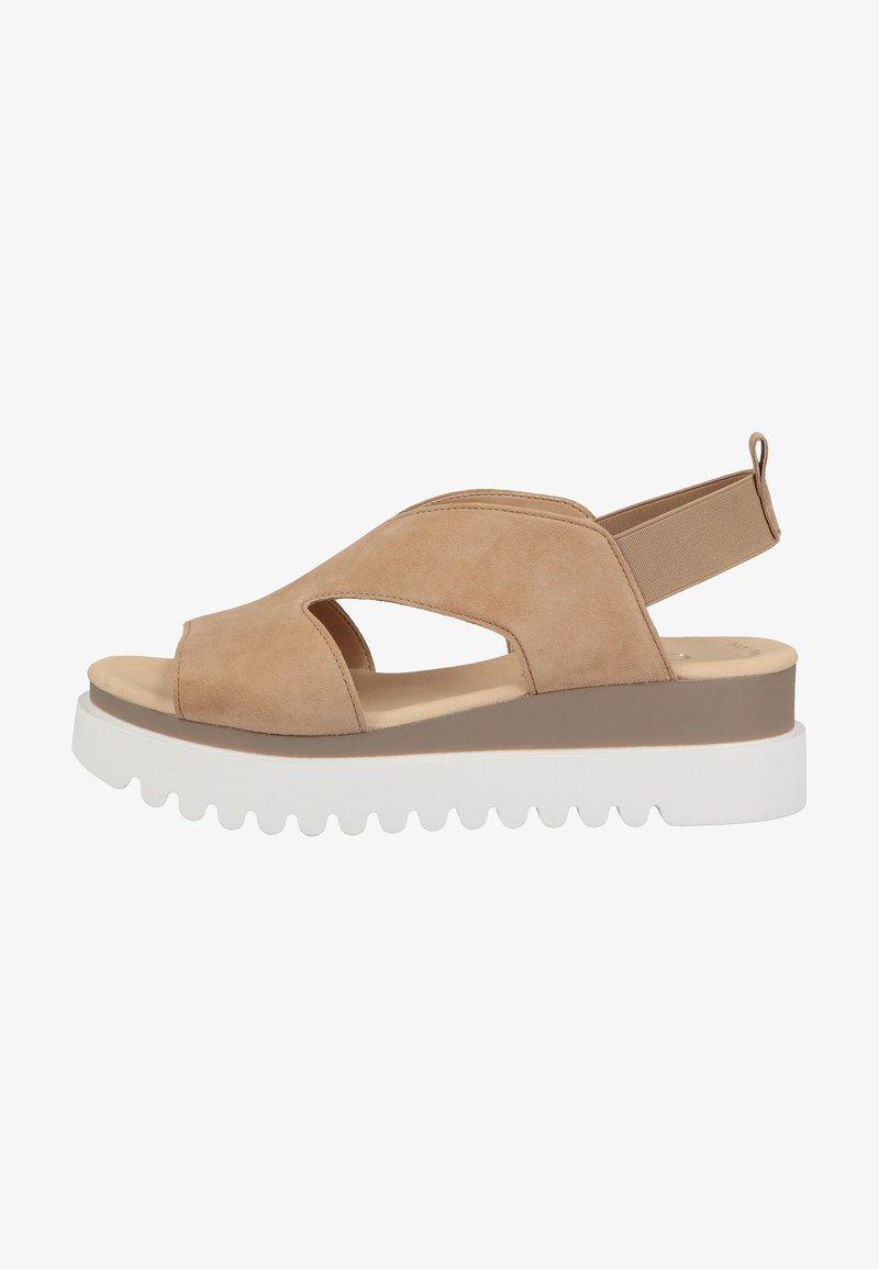 Gabor - Platform sandals - caramel