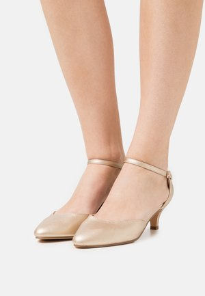 COMFORT - Klassiske pumps - gold