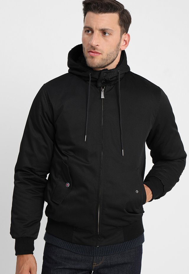 SINATRA HOODED - Light jacket - noir