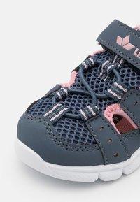 LICO - SORIN  - Walking sandals - grau/rosa - 5