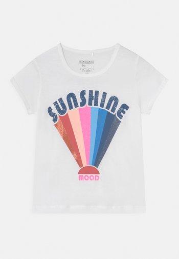 TEEN - Print T-shirt - white