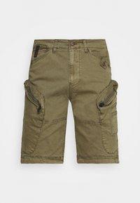 SABARDELL UTILITY - Shorts - dark oliv