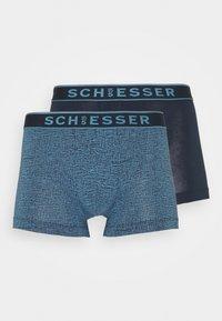 Schiesser - SHORTS 2 PACK - Pants - dark blue - 3