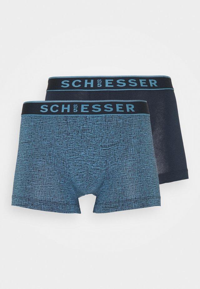 SHORTS 2 PACK - Pants - dark blue