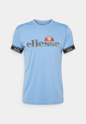 ALENTE - Print T-shirt - light blue