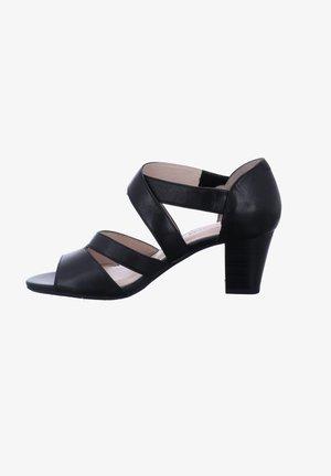 LOTTA - High heeled sandals - schwarz