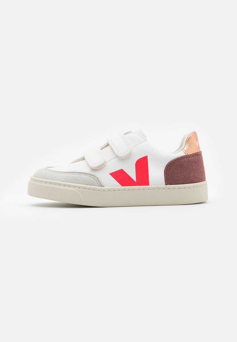 Veja - SMALL V12 - Sneakers laag - extra white/multicolor/dried petal