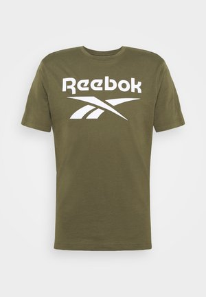 RI BIG LOGO TEE - Camiseta estampada - army green
