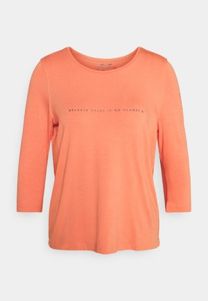VELETA WOMAN - Long sleeved top - dusty orange