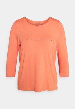 VELETA WOMAN - Camiseta de manga larga - dusty orange