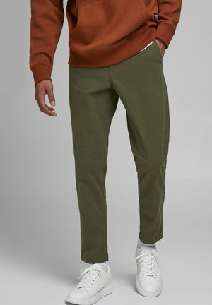 ACE WORKER - Trousers - olive night