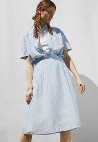 Esprit - A-line skirt - light blue - 6
