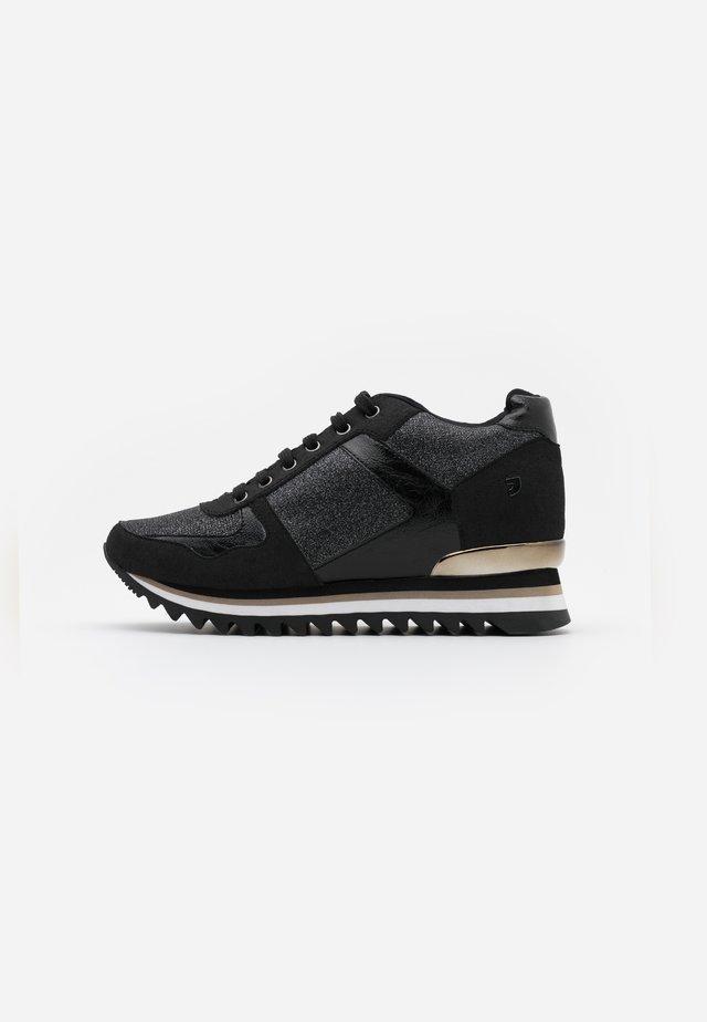 TELLER - Sneakers basse - black