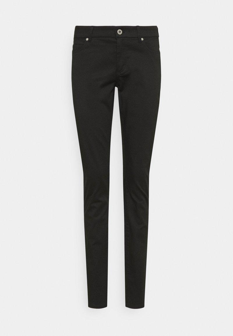 Marc O'Polo - 5 POCKET MID WAIST SLIM LEG - Trousers - black