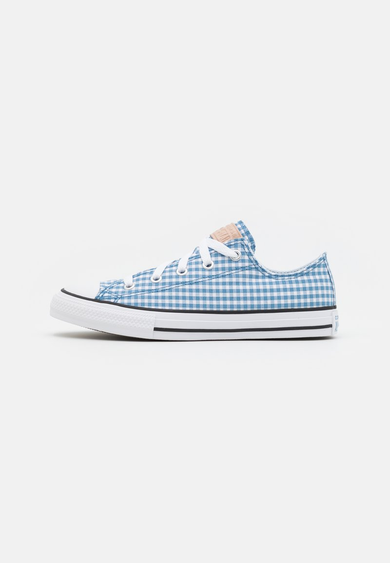 Converse - CHUCK TAYLOR ALL STAR GINGHAM UNISEX - Trainers - aegean storm/white/black