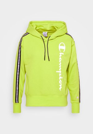 HOODED - Luvtröja - neon green