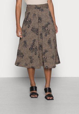 OBJEVELYN SKIRT - A-line skirt - black