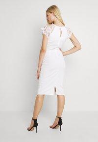 WAL G. - SABRIA MIDI DRESS - Cocktail dress / Party dress - white - 2