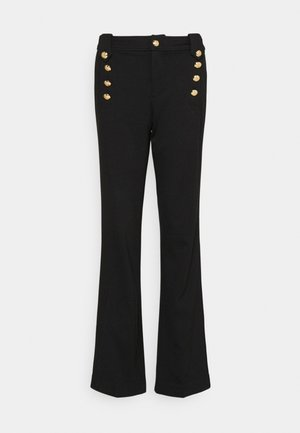 MODERN PONTE - Trousers - polo black