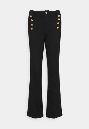 MODERN PONTE - Kalhoty - polo black
