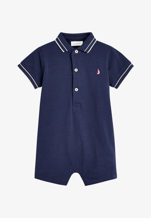 2 PACK STRIPE POLO ROMPERS - Overal - blue